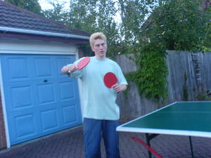 Table tennis.... so many matches - UPLOADED BY Paul Bill