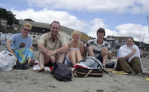 On the beach in Looe - UPLOADED BY Carl